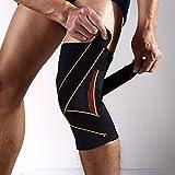 Motomo 十字靭帯 半月板損傷 膝蓋骨 側副靭帯損傷 ケア 膝サポーター ニースタビライザー 男女兼用 (L, 2個セット)