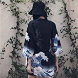 Giacca estiva per le Donne 2019 Donne Dipinte Giacca Protezione Solare Delle Donne Dei Vestiti Della Stampa Chiffon Delle Don