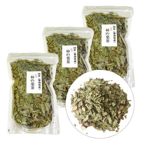 国産 徳島県産 柿の葉茶 (100g×3袋)