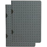 Paperblanks Paper Oh Cahier Circulo Grey on Black / Grey on Black OH9198-1