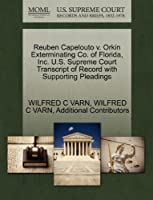 Reuben Capelouto V. Orkin Exterminating Co. of Florida, Inc. U.S. Supreme Court Transcript of Record with Supporting Pleadings