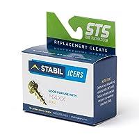 STABILicers 交換用真鍮製クリート 火花防止タイプ STABILicers Maxx用 トラクション氷上クリート 50本入り OS