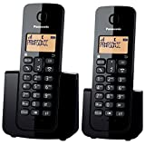 PanasonicDigital Cordless Phone, Titanium Black(KX-TG2511CXT)