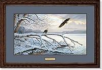 冬Majesty–Eagles Framed Limited Edition印刷by Persis Clayton Weirs