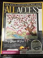 Anita GoodesignすべてのアクセスVIPクラブMay 2018刺繍デザインCD & Book