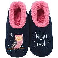 Slumbies! Womens Slippers - Indoor Slippers for Women - Comfortable House Slippers for Women - Fuzzy Slippers - Pairables