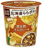 ポッカサッポロ じっくりコトコト北海道ららポテト富良野オムカレー味カップ×6個