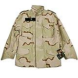 alpha アルファ M65ジャケット アメリカサイズのM デットストック品 デザートカモ