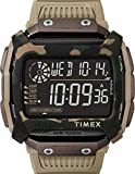 Timex メンズ コマンドショック 54mm クォーツ 樹脂ストラップ ブラック 24 カジュアルウォッチ (モデル:TW5M18200)
