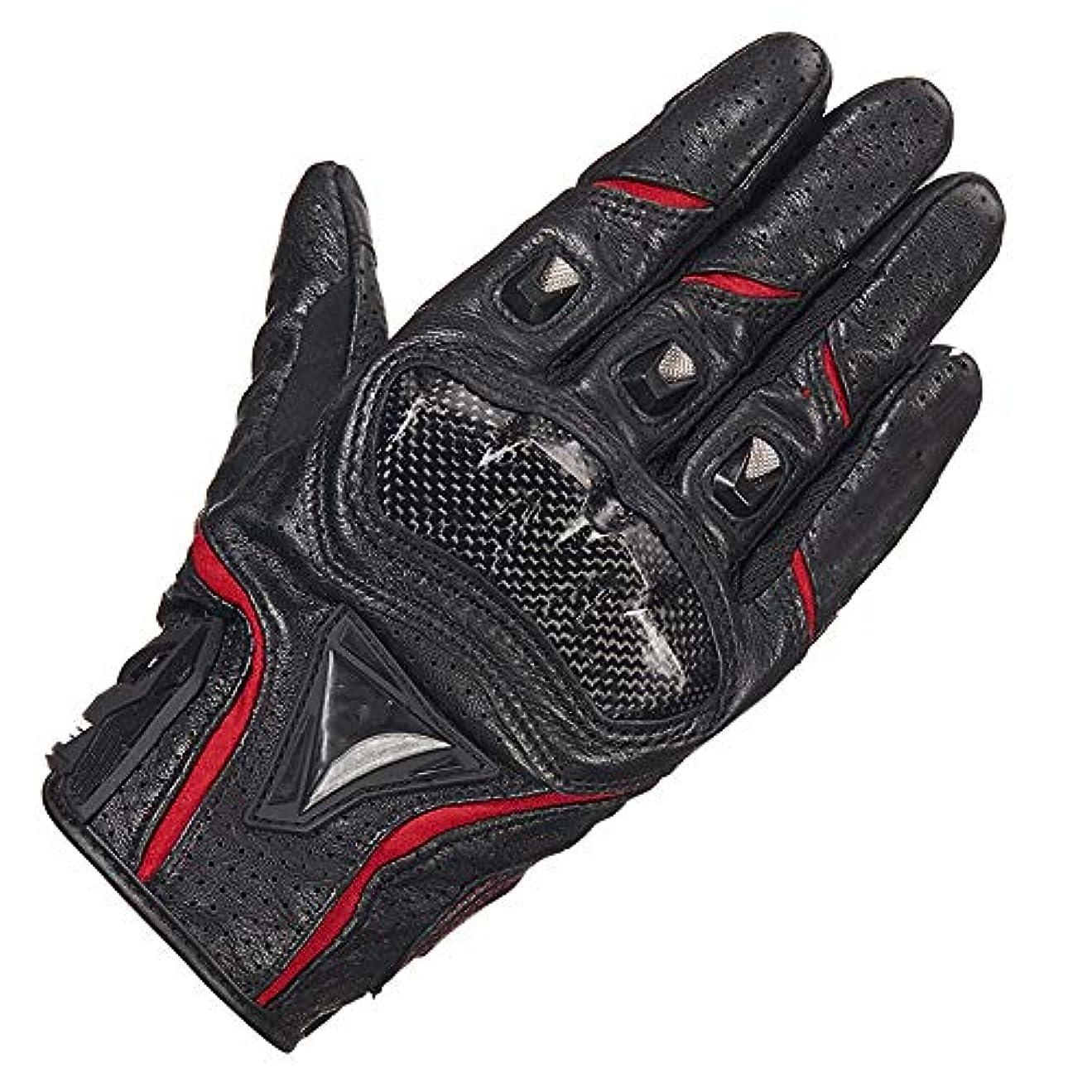 実用的柔らかい山積みのオートバイの男性の夏のオートバイのレーシンググローブの薄いタッチスクリーンの四季ドロップ保護を乗っている羊皮の手袋
