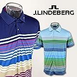 (J.リンドバーグ) J.LINDEBERG 半袖ポロシャツ 071-21445 M(46) 96(水色)