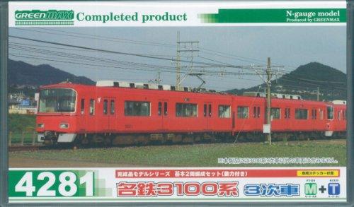 Nゲージ 4281 名鉄3100系 3次車 基本2両編成セット (動力付き) (塗装済完成品)