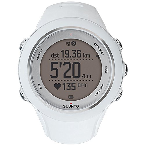 SUUNTO(スント) AMBIT3 SPORT WHITE 【日本正規品】 時刻表示 GPS コンパス 心拍計 Bluetooth [メーカー保証2年]