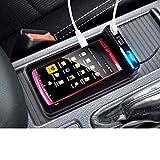 星光産業 2.1A USB電源2ポート搭載シガーソケット充電ステーション USBトレイ ブラック EM-109