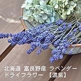 北海道 富良野産 濃紫【ラベンダードライフラワー 花束】300g