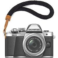No1accessory 黒 カメラハンドストラップ Fujifilm XE3 X 100F X100T X100S XT20 XT10 XT3 XT2 XT1 X 70 X-Pro2 X-Pro1 X-E2S XE2 X 30 X20 X 10 XF1 載 XJ-S-MM-A01