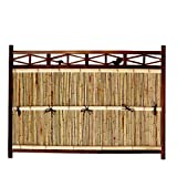 仕切り竹垣 目かくし竹フェンス 横型 幅5.5尺 W165cm×H120cm