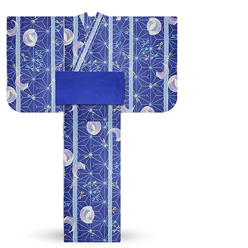 男の子用 変わり織り 子供浴衣3点 セット (100cm, B-10)