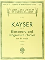 36 Elementary And Progressive Studies, Op. 20: Complete (Schirmer's Library of Musical Classics)