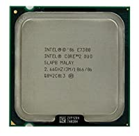 Intel Core 2 Duo E7300 2.66GHz 3MB CPU Processor LGA775 SLAPB SLB9X SLGA9 [並行輸入品]