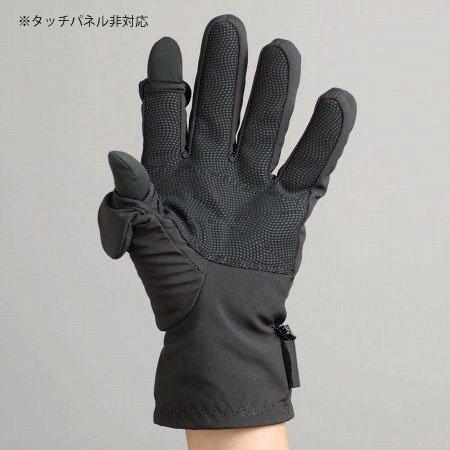 freehands(フリーハンズ) メンズ フォトグローブ ソフトシェル XLサイズ ブラック ※タッチパネル非対応