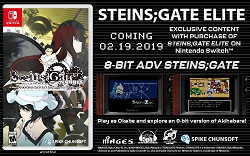 chunsoft STEINS;GATE ELITE - Nintendo Switch Games - From America.