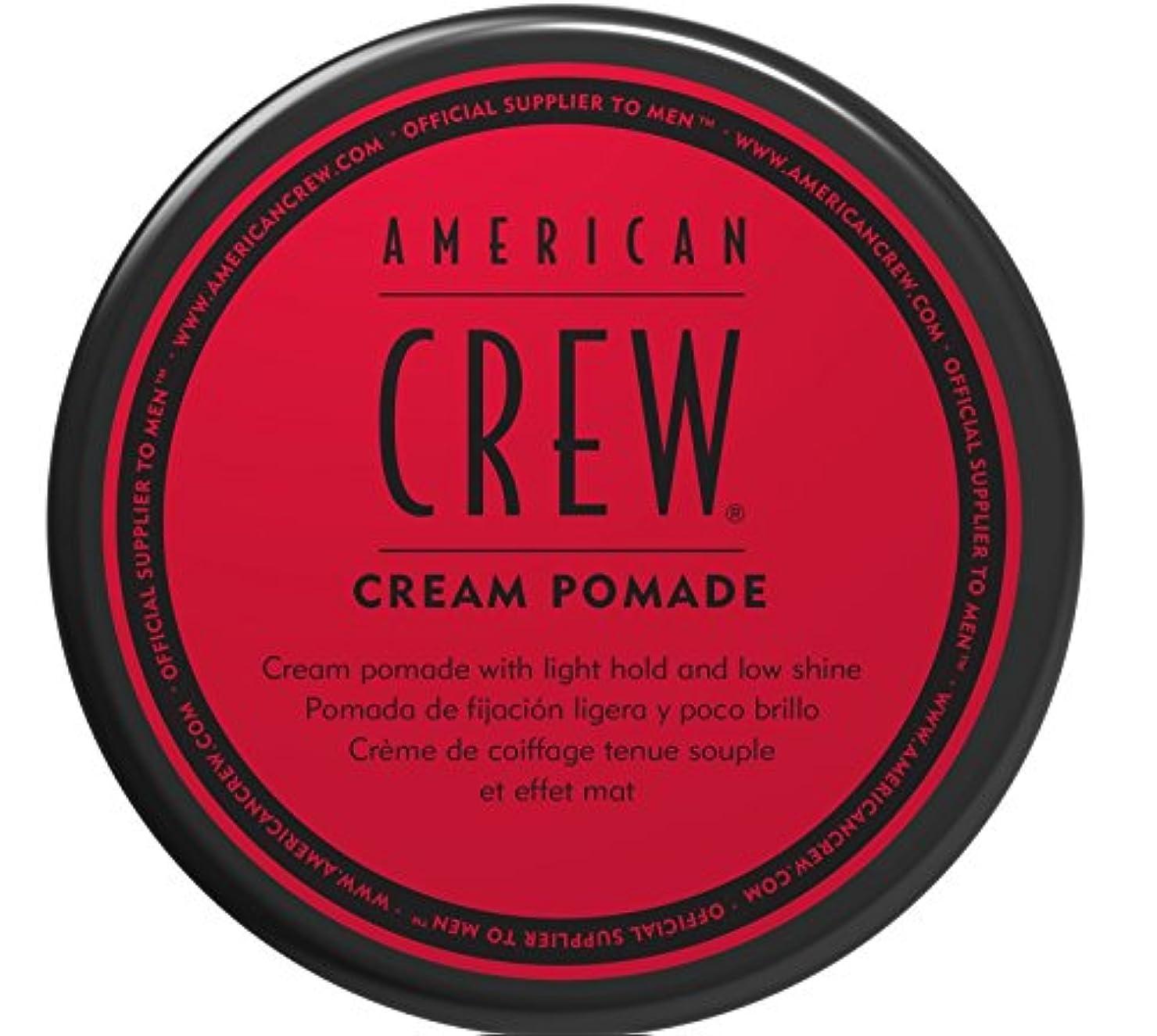 スクワイアビーズ稼ぐAMERICAN CREW アメリカンクルークリームポマード、3オンス 3オンス