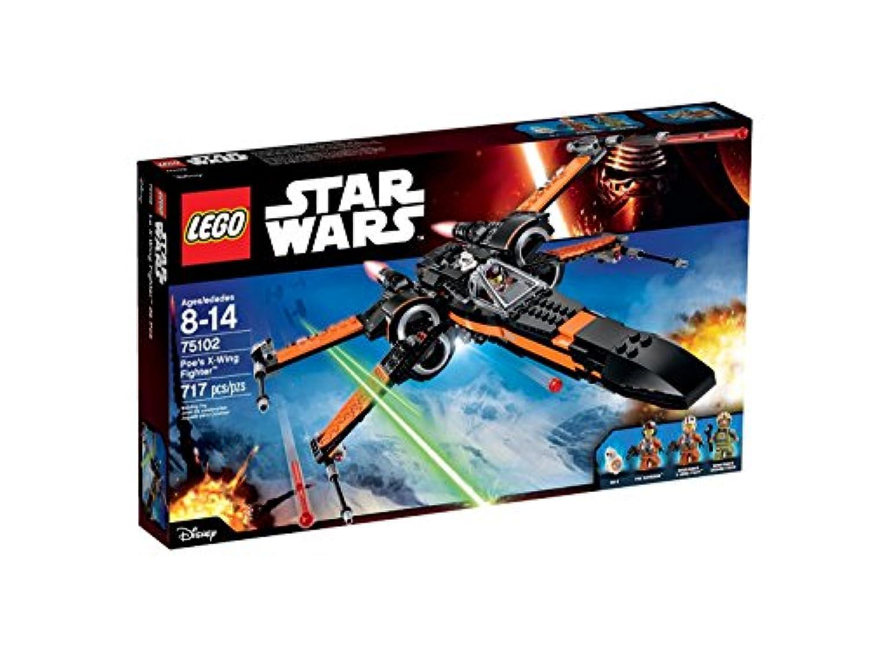 輸入レゴスターウォーズ LEGO Star Wars Poe's X-Wing Fighter 75102 Building Kit [並行輸入品]
