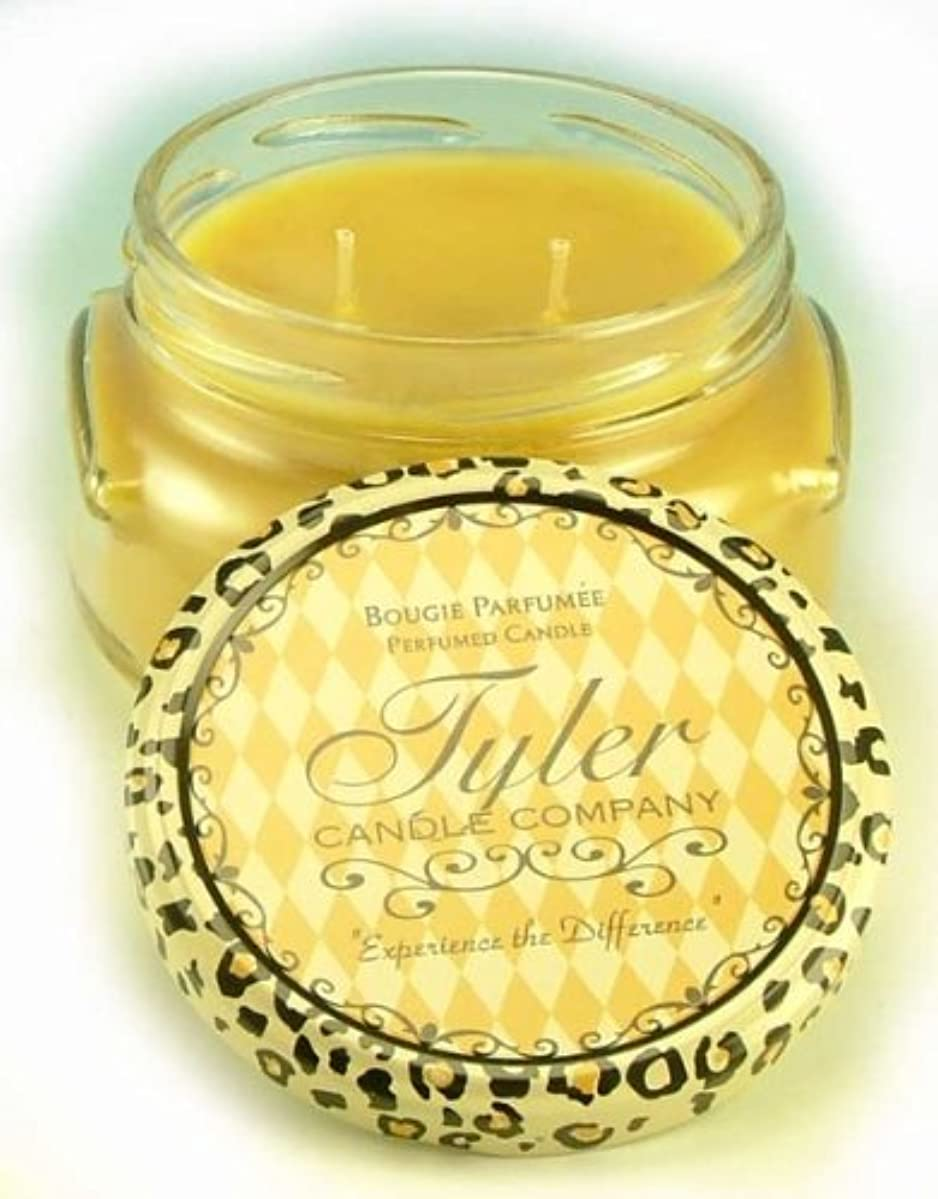 さびた部分謝るTwenty Four Seven Tyler 11 oz Medium香りつき2-wick Jar Candle