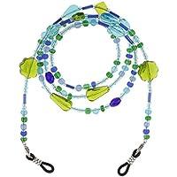Lovoski Beaded Eyeglass Chains for Women Girls, Reading Glasses Cords Colorful Sunglasses Chain Holder Lanyards, Eyewear Retainer 65cm