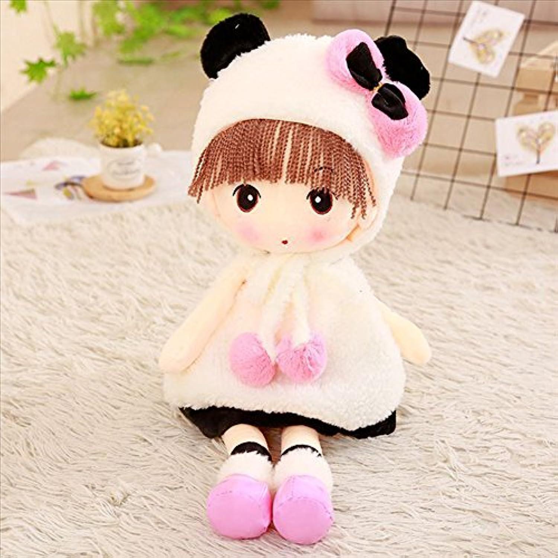 FUMUD かわいい 女の子 ぬいぐるみ 人形 柔らかい スカート 抱き枕 ドール 誕生日プレゼント 4サイズ選択