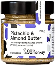Pistachio & Almond Butter by 99th Monkey (6x200g Jars)