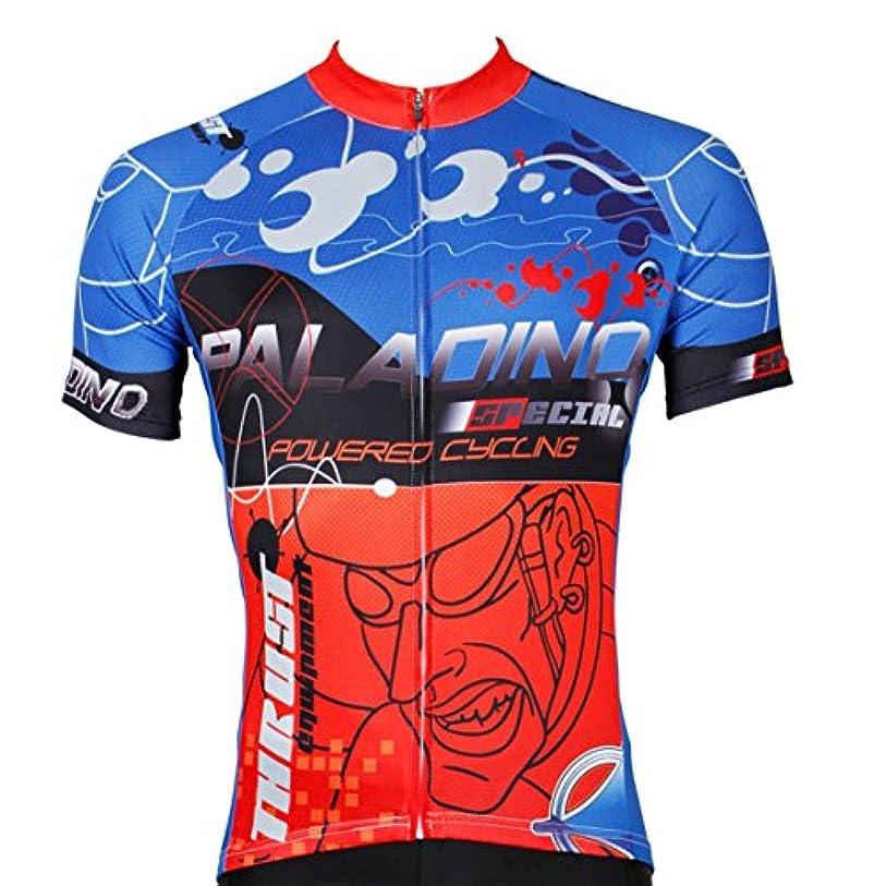 魔女タイムリーなメーカーMen's Pro Racing Team MTB bike Bicycle Cycling Short Sleeve Jersey Reflective Multicolor