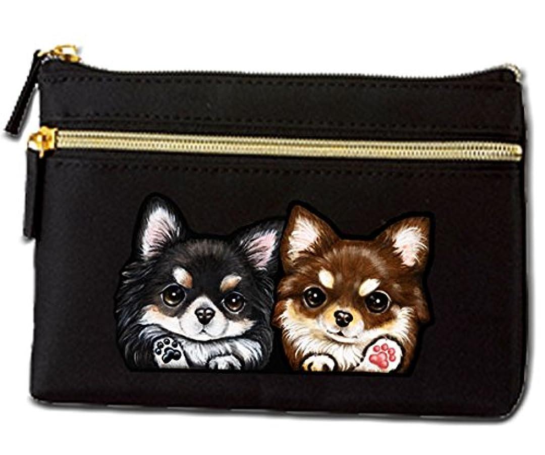手当サイドボード優雅な犬 ポーチ / チワワ32と42/雑貨/グッズ/オリジナル