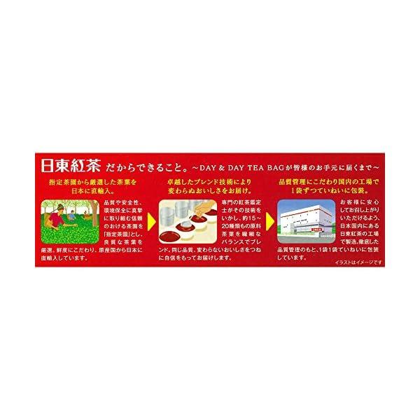 日東紅茶 DAY&DAY ティーバッグの紹介画像4