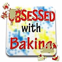ブロンドDesigns Obsessed with–Obsessed with Baking–10x 10インチパズル( P。_ 241522_ 2)