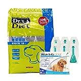 【PACK】ドクターズダイエット 体重管理 3.8kg & 犬用フロントラインプラスS 5〜10kg 6本(動物用医薬品)