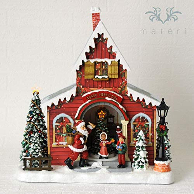 クリスマスハウスオルゴール クリスマス置物