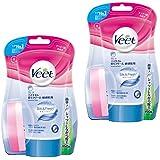 【まとめ買い】ヴィート バスタイム 除毛クリーム 敏感肌用 150g (Veet In Shower Hair Removal Cream Sensitive 150g)