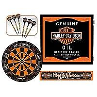 Harley-Davidson 61992 Oil Can Dart Cabinet Kitハーレーダビッドソン61992オイルダーツキャビネットキット [並行輸入品]