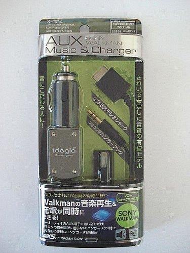 [해외]아크 스 (AXS) 충전기 idegia-AUX 음악 &  충전기 WALKMAN X024/Arcus (AXS) charger idegia-AUX music &  charger WALKMAN X 024