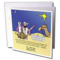 リッチDiesslins面白い漫画Gospel漫画 – Matthew 02 01 – 12 The wiseメンズTry to Follow the Stars with Carl Sagan – グリーティングカード Set of 6 Greeting Cards