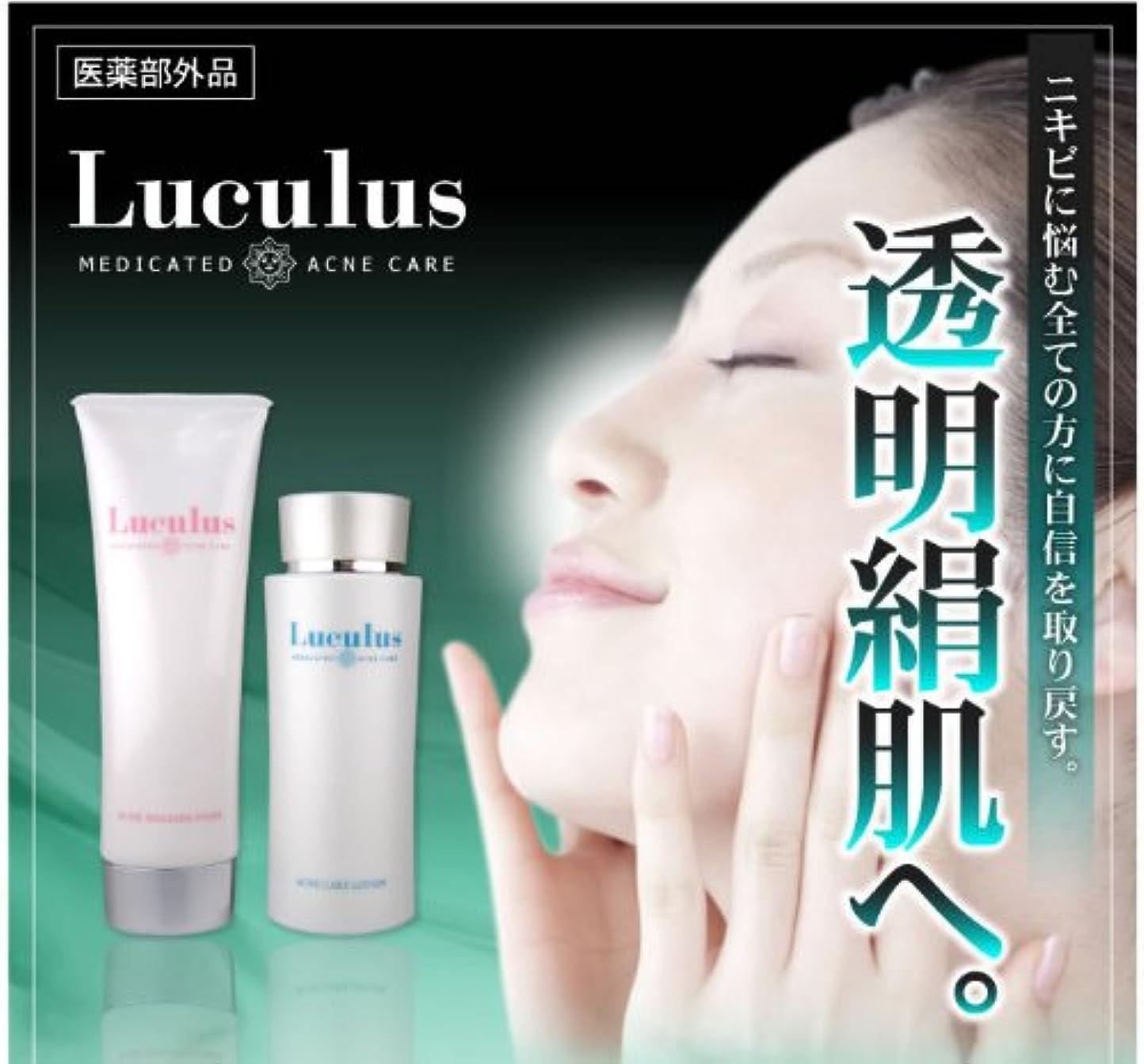 同じ突然のマンモス薬用アクネケア ルクルス 洗顔フォーム