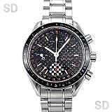 [オメガ]OMEGA腕時計 スピードマスター シューマッハ 限定モデル ブラック/カーボン Ref:3529.50 メンズ [中古] [並行輸入品]