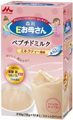 Eお母さん ミルクティー風味 18g×12本