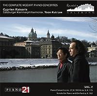 Mozart: Piano Concertos 27, 5, Rondo K382 by Cyprien Katsaris