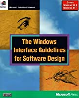 WIN INTERFACE GUIDELINES SOFTWARE DESIGN (Microsoft Corporation)