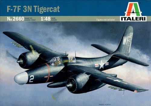 グラマン F7F-3N タイガーキャット 38660 (タミヤ イタレリ 1/48 飛行機シリーズ 2660)