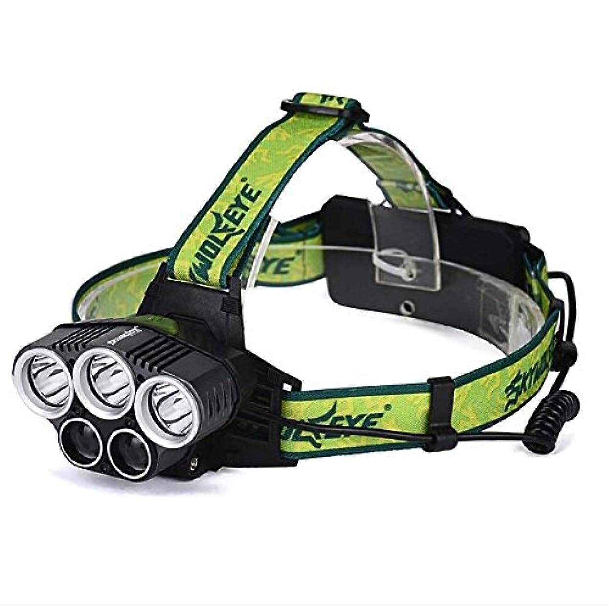 膜抑制雰囲気Nanle スーパーブライトUSBヘッドライト、LEDヘッドライトトーチ充電式、5モード防水ヘッドランプ釣りキャンプウォーキングジョギング用自転車ハイキング