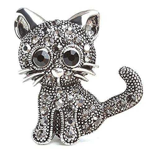 KLUMA ブローチ かわいい 猫 ピンバッジ 人気 しゃれ...